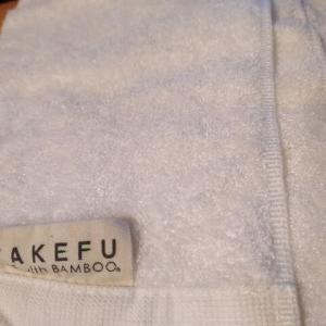 竹布 TAKEFU フェイスタオル買いましたのレビューです。