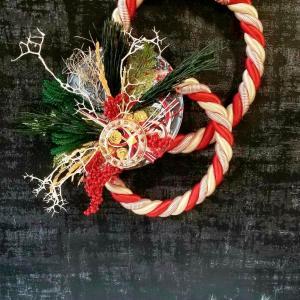 お正月飾り しめ縄 クリアリウム 福岡 プリザーブドフラワー