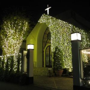 プレゼントマフラーにはこんなタイプもあります!!+ル・アンジェ教会クリスマスイルミネーション
