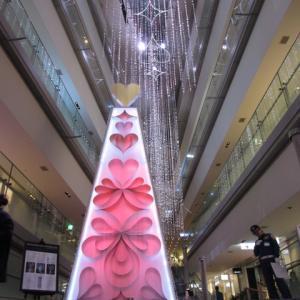 マリオネットさんの手編みベストとしましまバッグ!!+表参道ヒルズのクリスマスイルミネーション