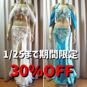 本日最終日!ブラ&ベルト衣装、オリエンタル衣装がお値引き価格!