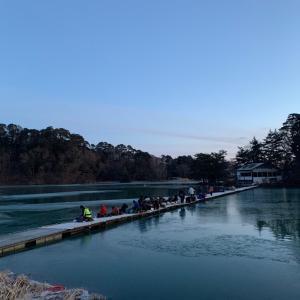桟橋ワカサギ釣り企画延長予定