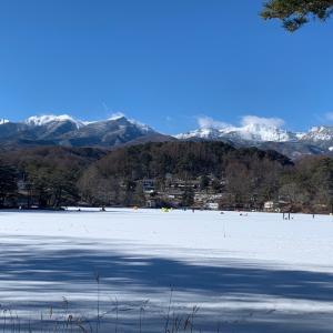 松原湖1月13日釣果情報