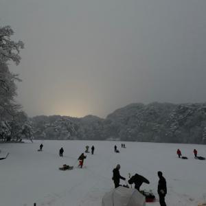 松原湖1月23日釣果情報