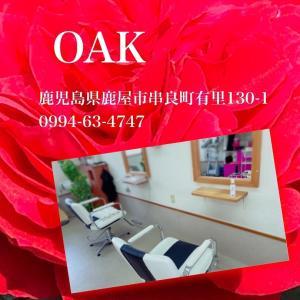 薔薇で癒されキャンペーンOAK美容室さま