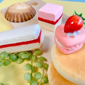【オーダー】粘土ケーキ・ペイント中です・・・・☆