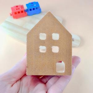 【100均】のお家を使って、クリスマスハウス!!・・・・☆