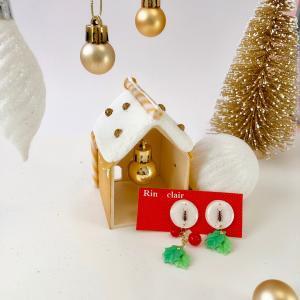 【プレゼント企画】Christmasハウス & ピアス・イヤリング送ります・・・・☆