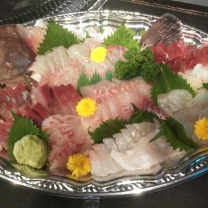 釣り人の夕食