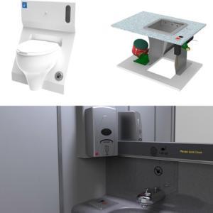コロナ感染予防で、非接触型の機内トイレ製品が誕生、これは想像した商品ではありませんでした。