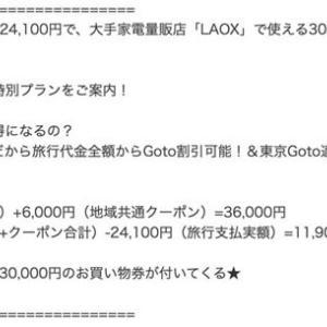 Go To トラベルキャンペーンに便乗した、1泊11,900円儲かるプランが問題に!