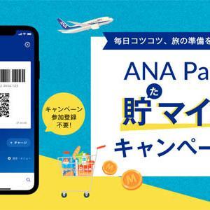 ANAは、もれなくマイルがもらえる「ANA Payで貯(た)マイルキャンペーン!」を開催!