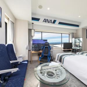 ANAとコラボレーションしたコンセプトルーム「ANA ROOM」が中部国際空港セントレアホテルに誕生!