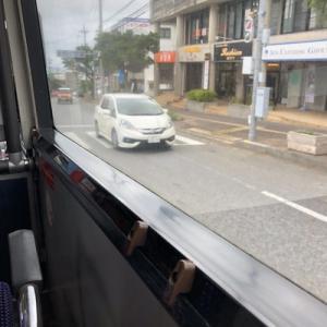 久しぶりのバス