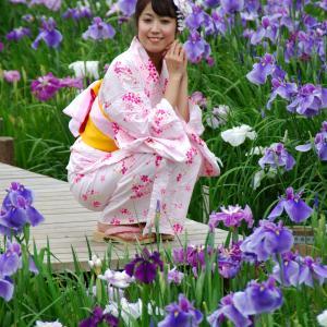 神山みゆき(元・全東京写真連盟モデル・2008~2011年) きもの・浴衣