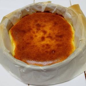 バスクチーズケーキ、再び(*´ω`*)