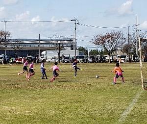 Jr.【U-10】 『串 サッカー交流大会/U-10』で頑張る