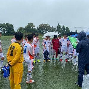 雨の《練習試合》、『U15リーグ/3部』は 7/18(土)~