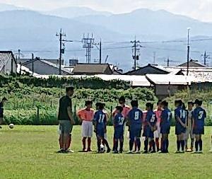 Jr.【U-10】 『FC.Feliz 交流戦』 秋晴れの中 「TRM」
