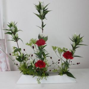 御稽古のお花~ならぶかたち