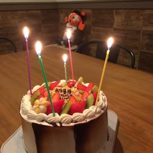 マキさんのお誕生日