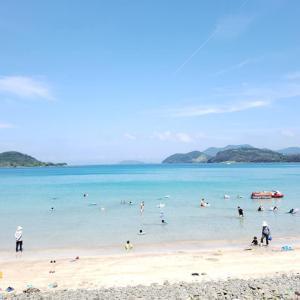 楽しかった柿の浜ビーチ。。。そしてお店での出来事!!