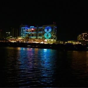 隅田川からの夜景