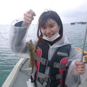 宿泊&船釣りプランで来社頂きました。