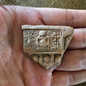 ドワーフ像(ドヴァーラヴァティー期)