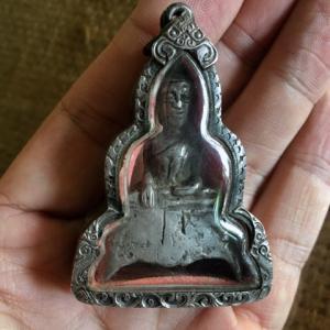銀製ランチャーン仏(お守りサイズ)