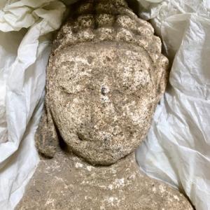 ドヴァーラヴァティー期(漆喰製)ナコンパトム出土