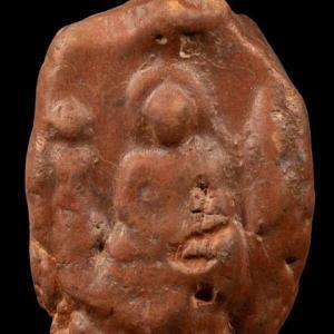 シュリーヴィジャヤ期の塼仏(スラータニー県出土)