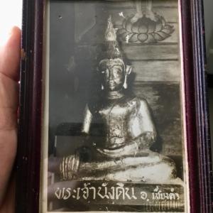 パヤオ県チェンカム郡  プラナンディン寺の仏像