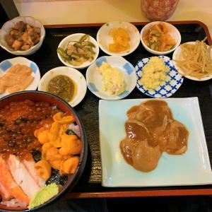 北海道函館市  朝市の名店「朝市の味処 茶夢」の海鮮丼がすごい。
