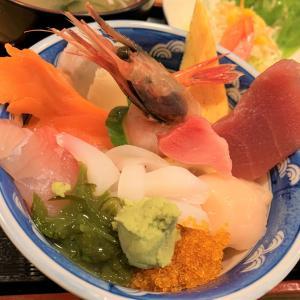 青森県むつ市 人気のお寿司屋さん、どってん家のお得なランチ。