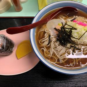 青森県むつ市 松木屋のおそばを食べるとホッとします。