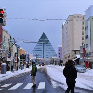 青森県青森市 過去を想い、きた倉の鰹出汁の効いた美味しいつけ麺を食べる。