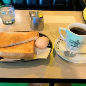 青森県青森市 人気の喫茶店、喫茶マロンでモーニングセットを頼んでみた。