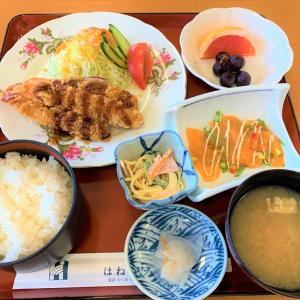 青森県むつ市 大人気のホテルのランチ。はねやホテル。