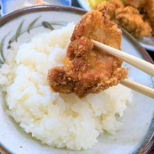 青森県東通村 激レア食堂「山河海」のから揚げ定食は何度食べても絶品です。