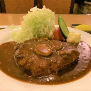 青森県平内町 国道4号沿いの喫茶店ボンネットのハンバーグ定食が絶品でした。