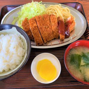青森県蓬田村 トンカツ定食の美味しさとボリュームに打ちのめされる【玉松観光食堂】