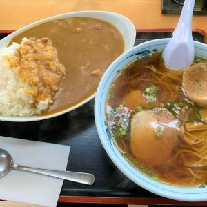 青森県青森市 滝を眺めた後、青森大学付近の食堂でセットメニューを頼んだら、もの凄い事になる【食事処千葉】。