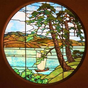 青森県中泊町 奥津軽にて、大正ロマン香るステンドグラスに出会う【宮越家 離れ/庭園】