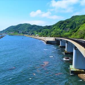 青森県中泊町 君にライオンが見えるか、そして生のサザエを噛み切れるか【ライオン岩】【海の幸磯や】