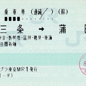 新幹線分岐線(ダミー線)入力の乗車券