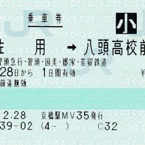 3社連絡乗車券(社線発マルス券)