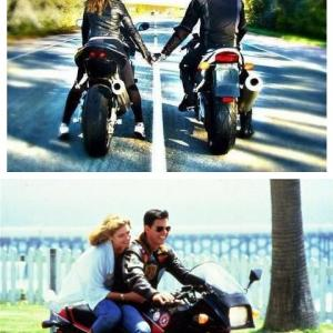 男女でバイク