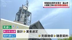 官製談合事件を受け 富山市が契約事務を厳格化(KNB 11月29日 18時39分)