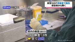 新型コロナ感染の男性が再検査で陰性 感染者から除外(KNB 令和2年10月19日 18時49分)